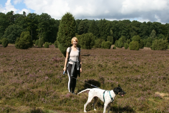Flexileine Beispiel im Naturschutzgebiet