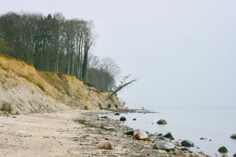 Brodtner Ufer Steilküste