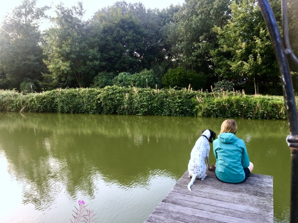 Im Garten in Wietzendorf
